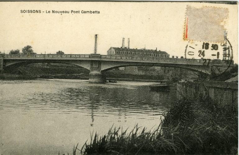 Soissons - Le Nouveau Pont Gambetta