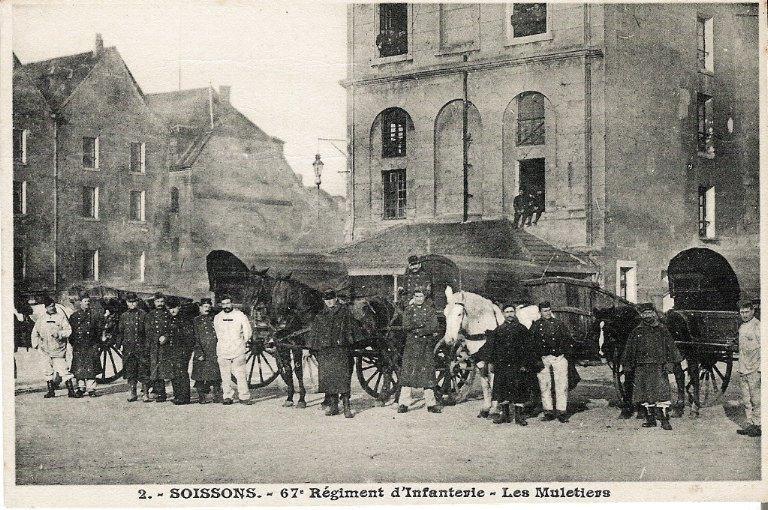 Soissons - 67e Régiment d'Infanterie - Les Muletiers_0