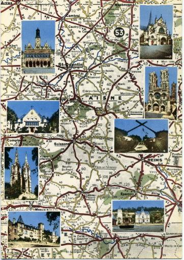 L'Aisne : Saint-Quentin - Tergnier - Soissons - Fere-en-Tardenois - Château-Thierry - Sissonne - Laon - Notre-dame-de-Liesse_0