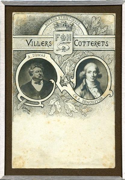 Portrait de Dumas et Demoustier (titre factice)_0