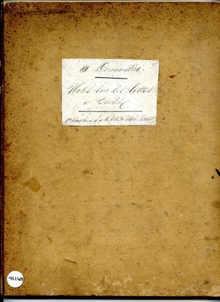 Notes sur les 'Lettres à Émilie'_0