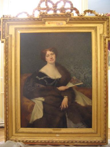 Portrait de Nadeja Dumas fils, née Van Knorring, veuve Naryschkine_0