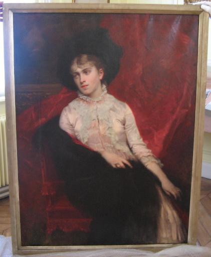 Portrait de Colette Lippmann, née Dumas_0