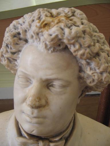 Buste d'Alexandre Dumas père