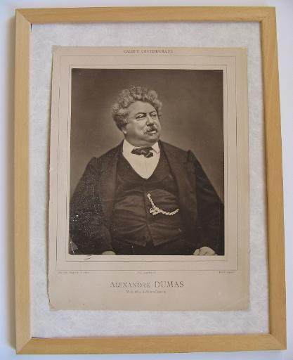 Portrait d'Alexandre Dumas père