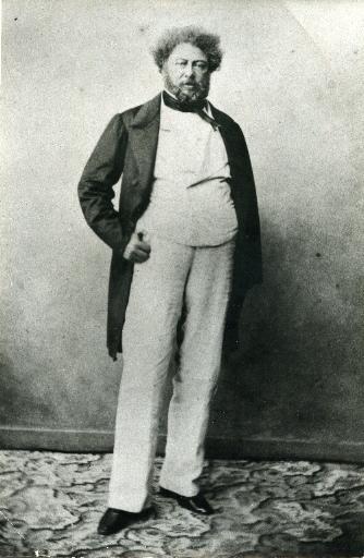 Portrait d'Alexandre Dumas père_0
