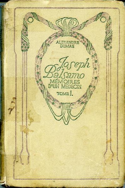 Joseph Balsamo (Mémoires d'un médecin). Tome I_0