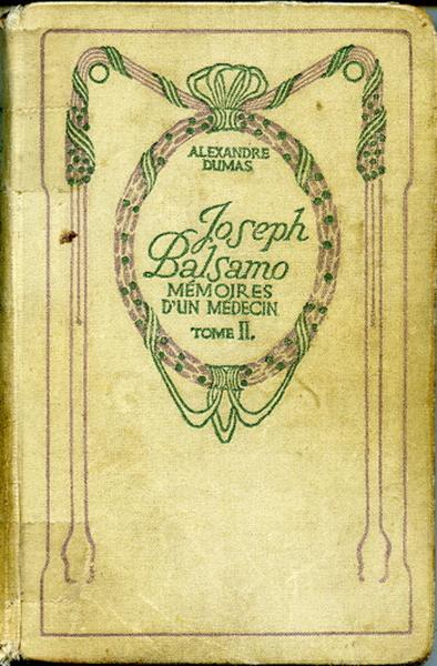 Joseph Balsamo (Mémoires d'un médecin). Tome II