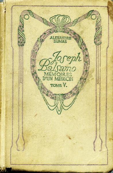 Joseph Balsamo (Mémoires d'un médecin). Tome V_0