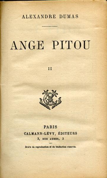 Ange Pitou. Tome II