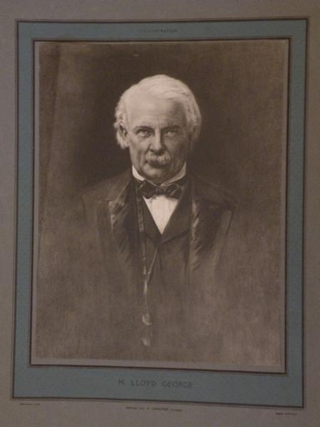 Portrait de M. Lloyd George