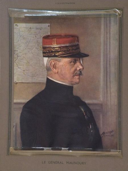 Portrait du Général Maunoury