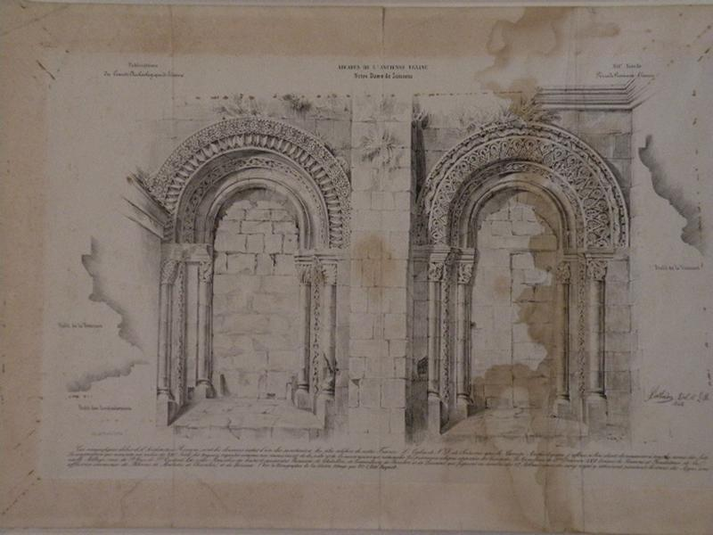 Arcades de l'Ancienne Eglise Notre Dame de Soissons