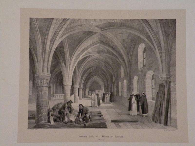 Ancienne Salle de l'Abbaye de Vauclair_0