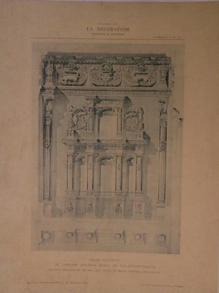 Salle des Etats de l'ancien château royal de Villers-Cotterêts_0
