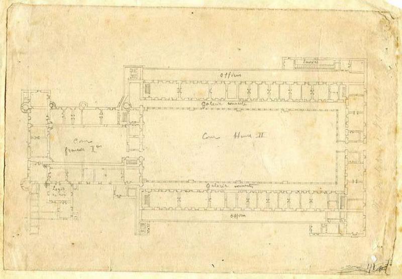 Plan du château de Villers-Cotterêts