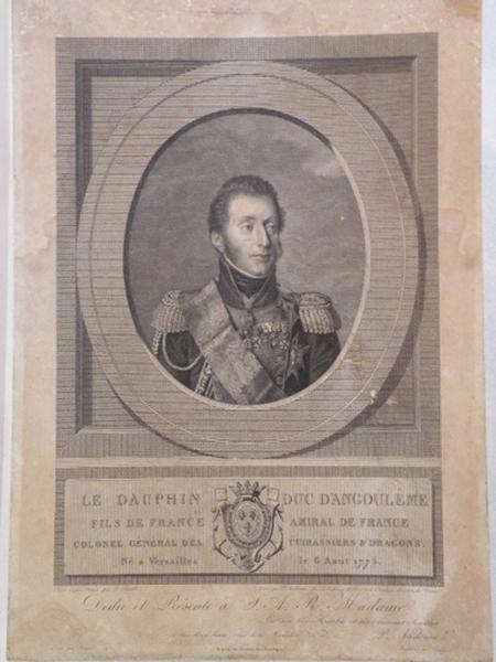 Le Dauphin duc d'Angoulême_0