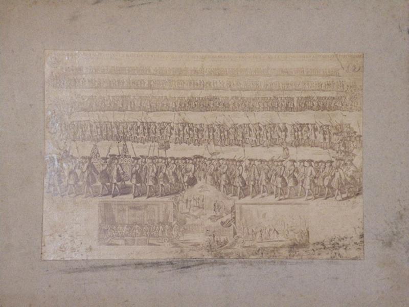 Les cérémonies observées dans la marche et à la montre des chevaliers de l'arquebuse des 57 villes ou provinces assemblées par ordre_0