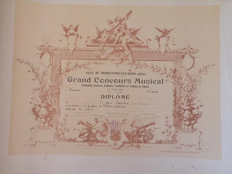 Grand Concours Musical - Prix d'exécution