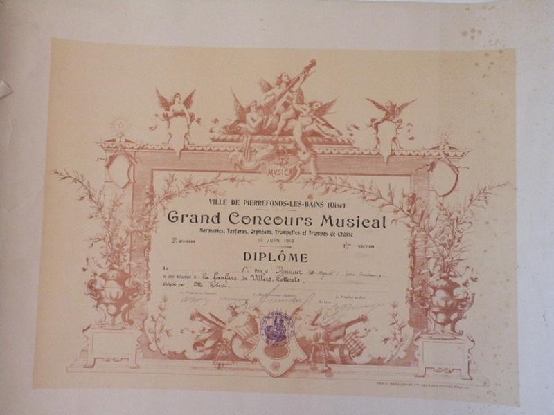 Grand Concours Musical - Prix d'honneur_0