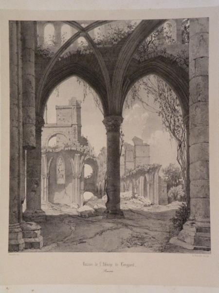 Ruines de l'Abbaye de Longpont_0