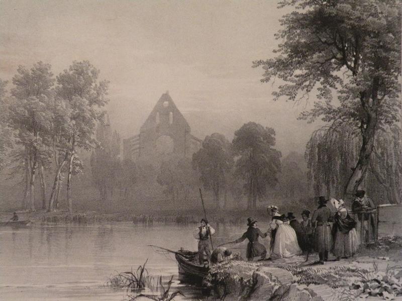 Ruines de l'Eglise de l'Abbaye de Longpont_0