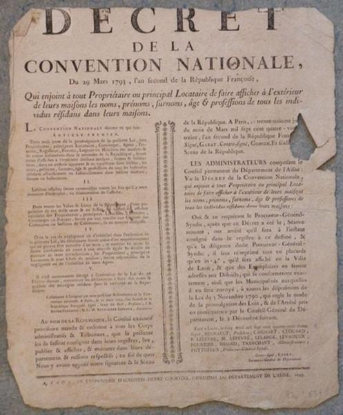 Décret de la Convention Nationale_0