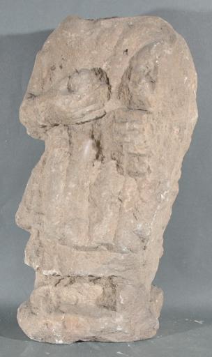 Ex-voto du temple de la forêt d'Halatte, femme et enfant_0