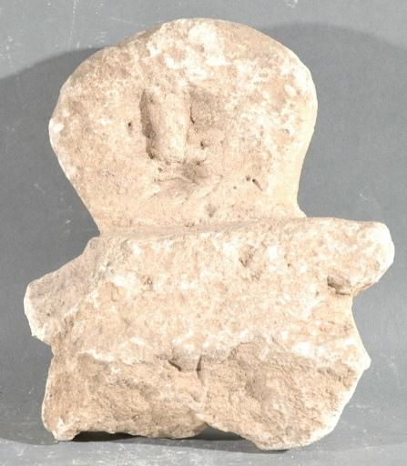 Ex-voto du temple de la forêt d'Halatte, buste d'homme_0