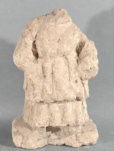 Ex-voto du temple de la forêt d'Halatte, femme