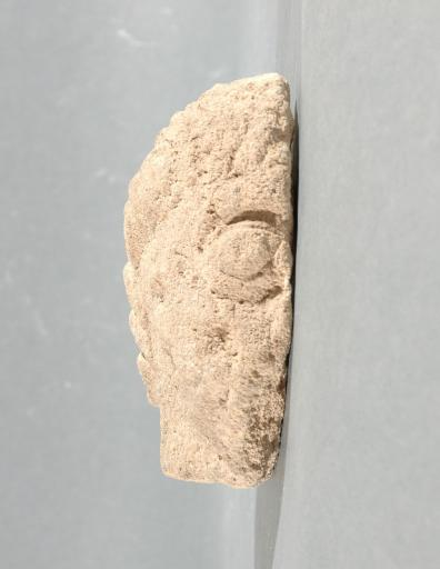 Ex-voto du temple de la forêt d'Halatte, tête de femme_0