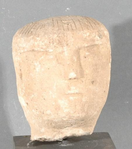 Ex-voto du temple de la forêt d'Halatte, tête
