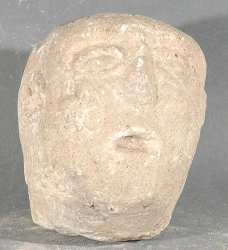 Ex-voto du temple de la forêt d'Halatte, tête_0