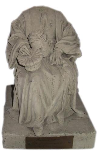 Statuette d'homme en tenue de juge, M. Eugène Vatin, maire de Senlis