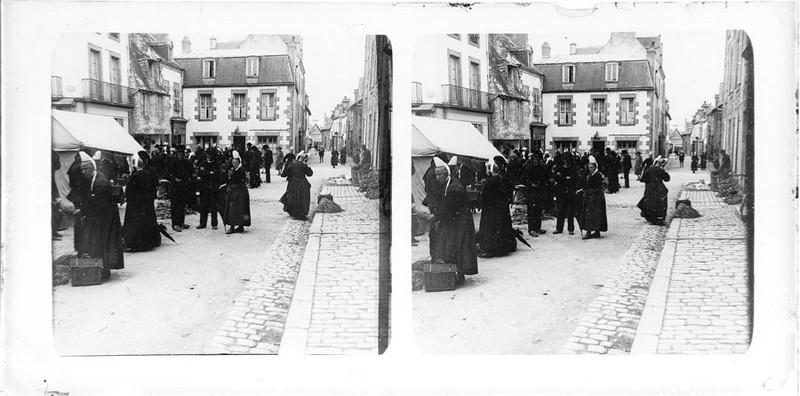 BOUZANQUET Gaston : Jour de marché