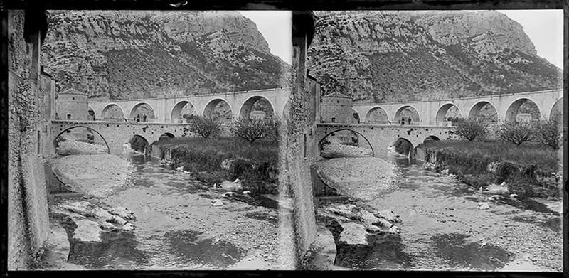 BOUZANQUET Gaston : Viaduc et pont de Planque