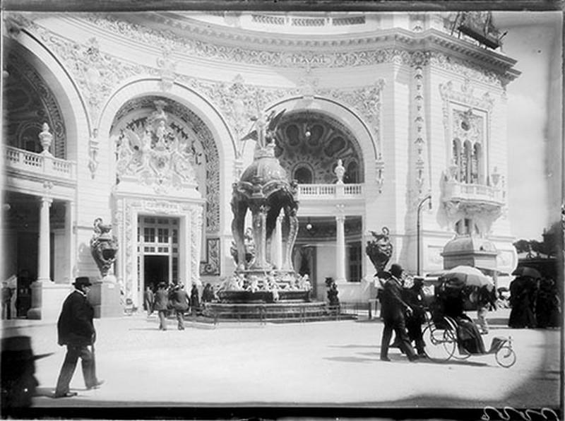 Porte de la bijouterie, joaillerie [exposition universelle 1900]