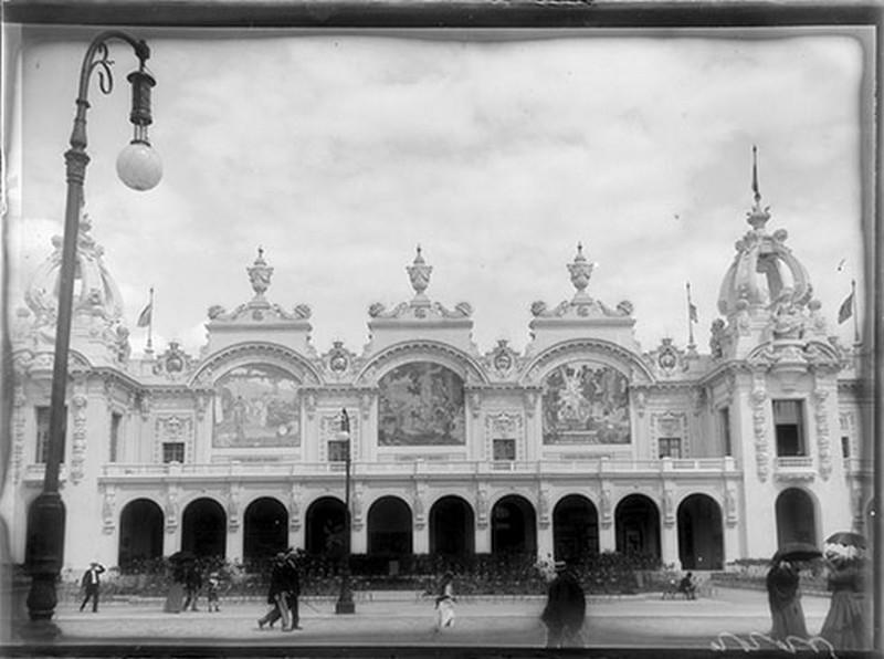 BOUZANQUET Gaston : Palais des arts décoratifs [exposition universelle 1900]
