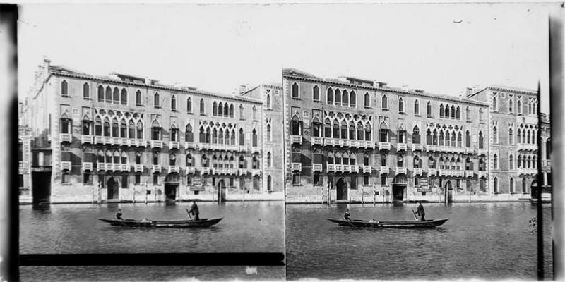 BOUZANQUET Gaston : Palais Giustinian
