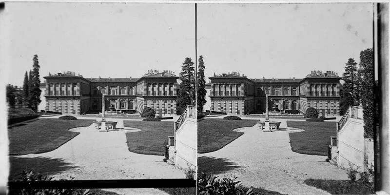BOUZANQUET Gaston : Palais Pitti