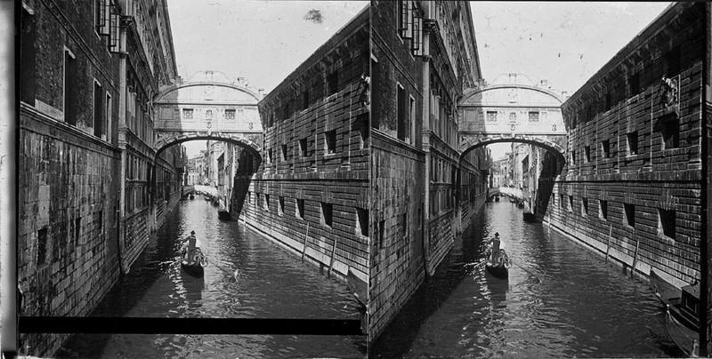 BOUZANQUET Gaston : Le pont des soupirs