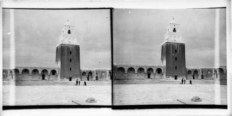 BOUZANQUET Gaston : Minaret de la Grande Mosquée