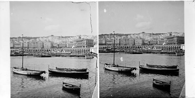 BOUZANQUET Gaston : Le port d'Alger
