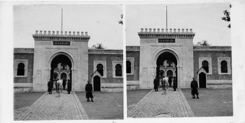 Porte d'entrée de la Kasbah