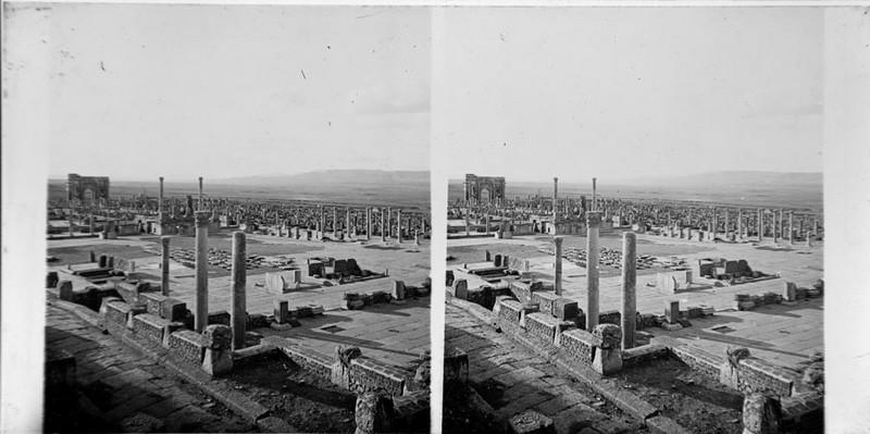 BOUZANQUET Gaston : Timgad, le Forum