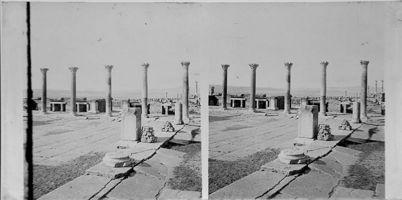 BOUZANQUET Gaston : Forum romain, Timgad