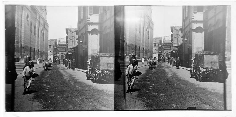BOUZANQUET Gaston : Scène de rue