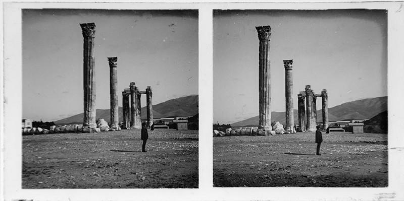 BOUZANQUET Gaston : Temple de Zeus olympien