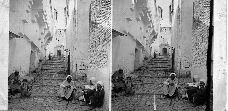 BOUZANQUET Gaston : Rue de la casbah d'Alger