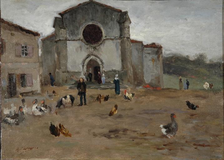 L'église de Saint-Just-en-Chevalet, 1er voyage